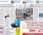 Tifone nelle Filippine: angeli pesaresi in soccorso con ospedale da campo